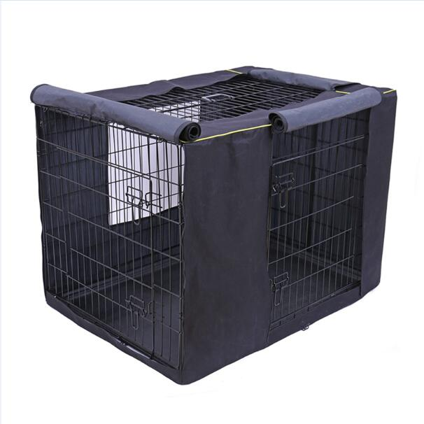 Pet Dog Cages Cover Waterproof Solid Extra Kennel Cage Cover - purepawsco