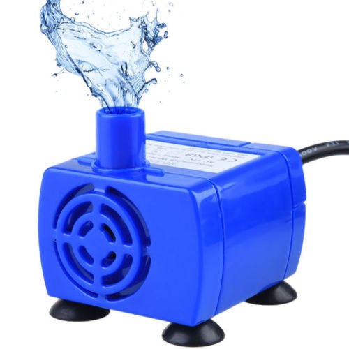 12V low AC Voltage Pet Water Fountain Pump Replacement Submersible For Dog Cat Drinking Feeding Cat Automatic Feeders - purepawsco