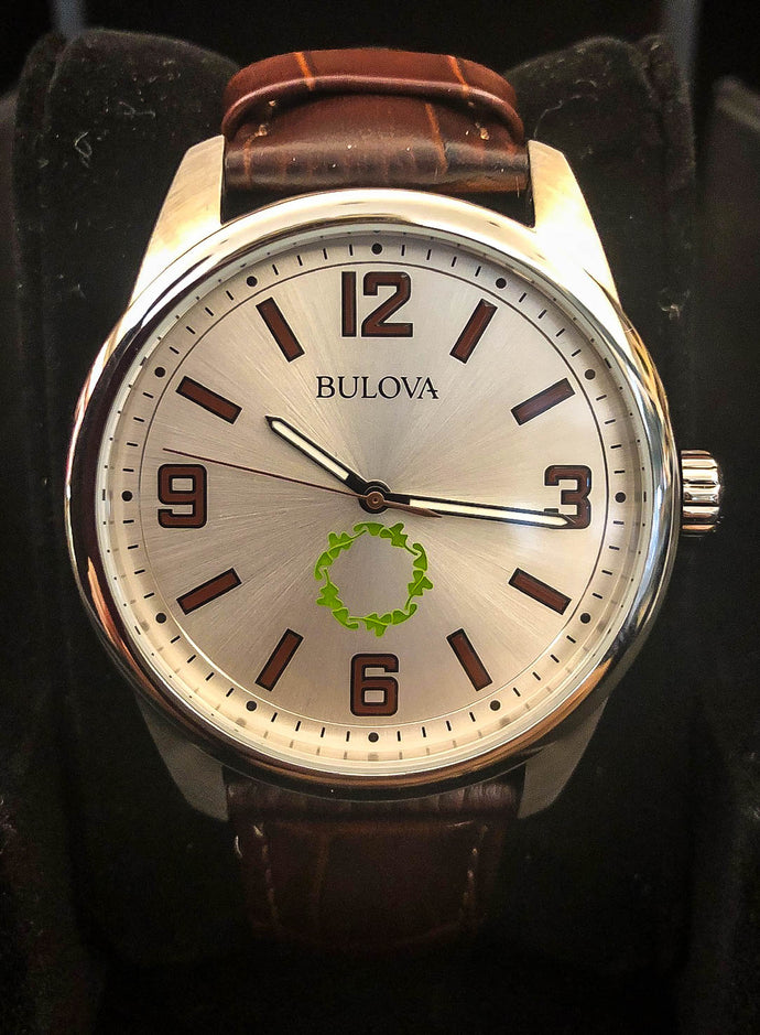 BULOVA Leather Men's Watch