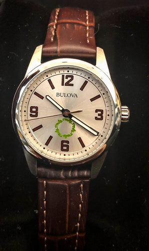 BULOVA Leather Ladies Watch