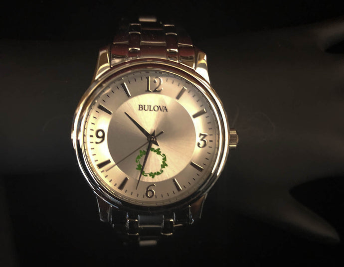 BULOVA Men's Silver Watch