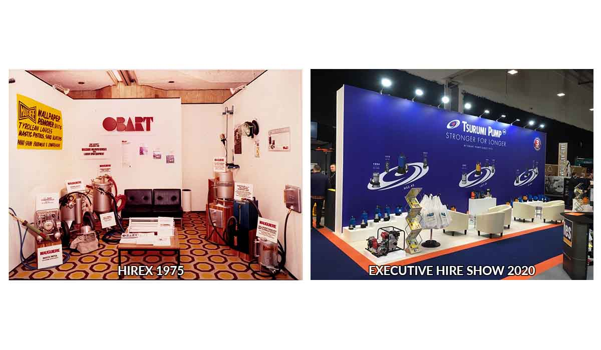 The Executive Hire Show's History With Obart Pumps