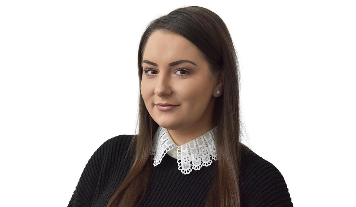 Richaine Nicholls has been promoted to Trainee Technical Sales Engineer