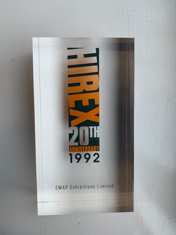 HireEx Awarded To Obart in 1992