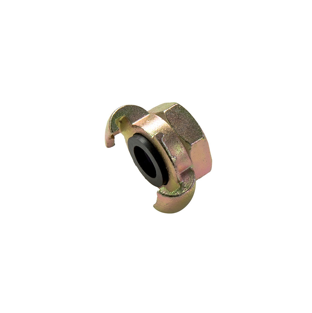 Air Hose coupling c/w female BSP- Zinc plate Steel