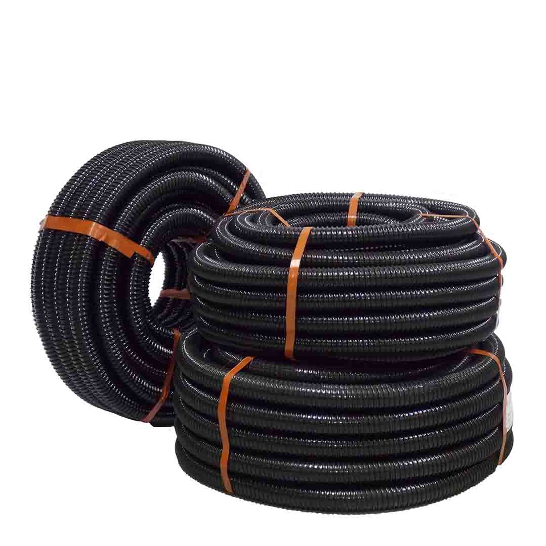 Budget Delivery Hose- flexible black PVC