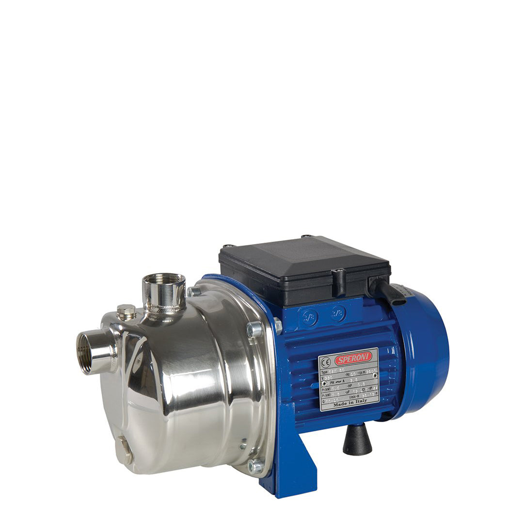CAM80 Speroni Blue CA, CAM Self Priming Jet Pumps Stainless Steel
