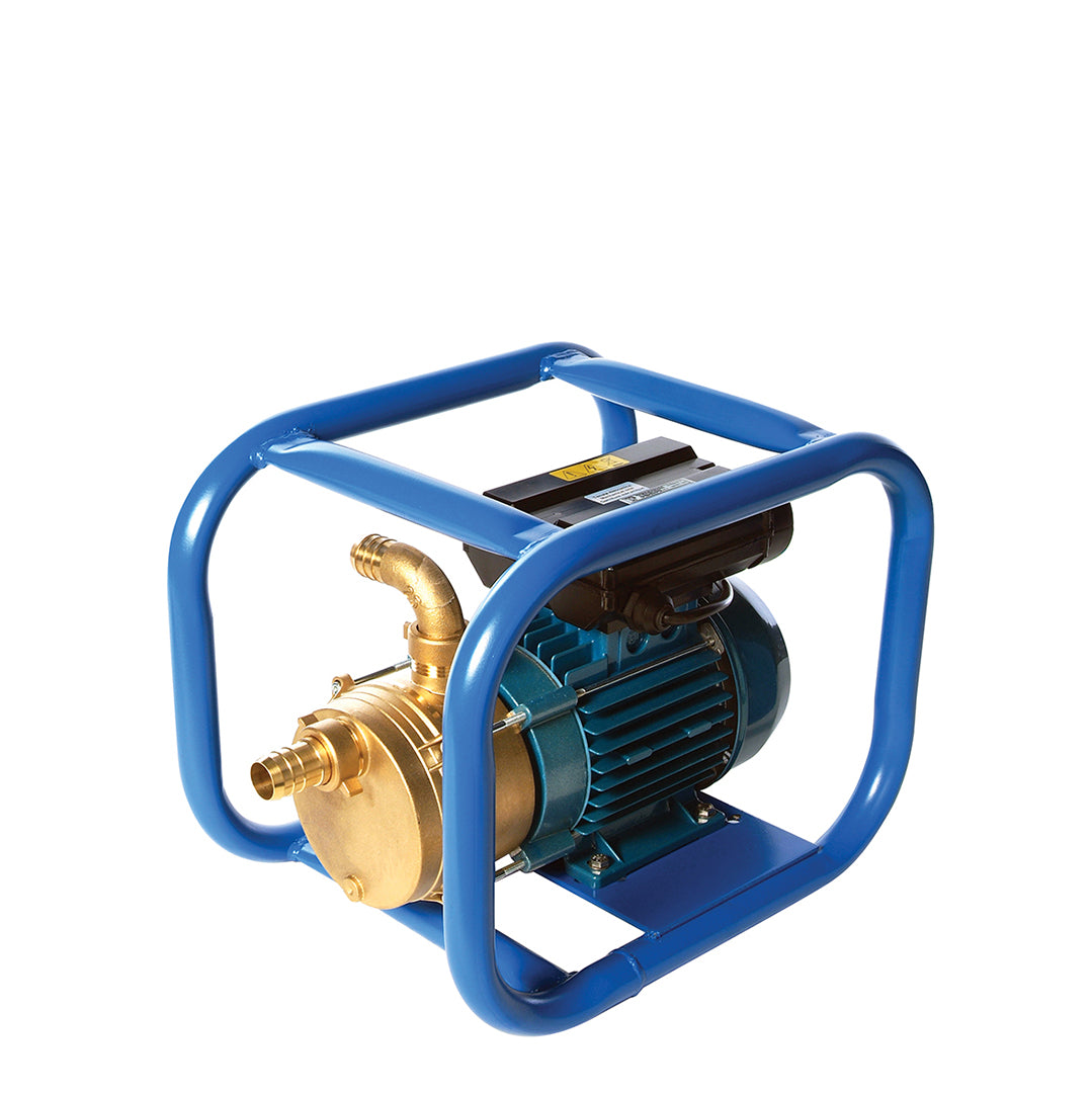 ENT Obart Select Industrial Surface Pump, in full protection frame  in blue frame