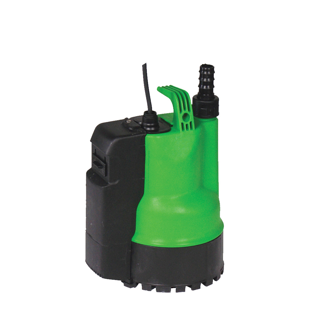 Ego 500 green Obart Select - Dual Control Puddle Sucker Pump