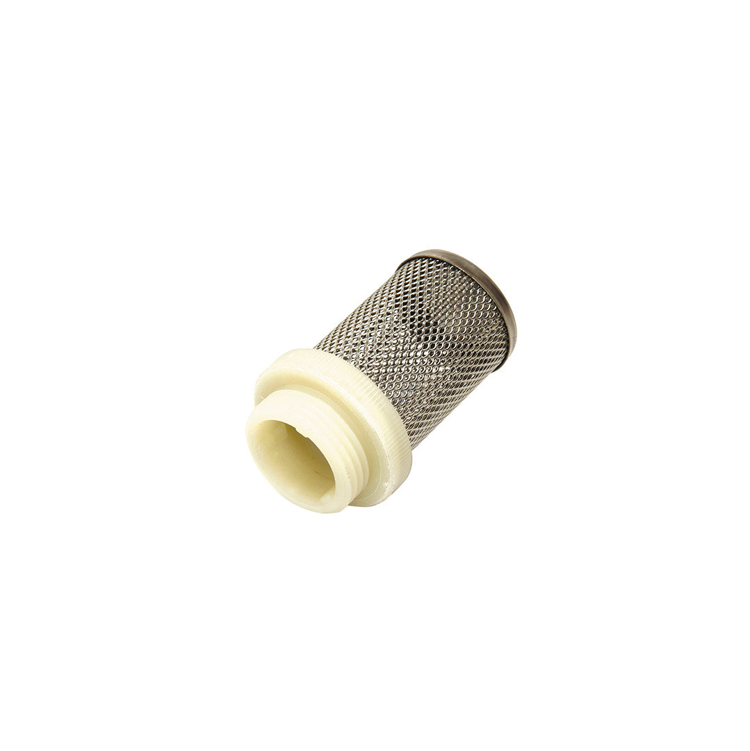 Fine mesh strainer c/w male BSP- Stainless Steel