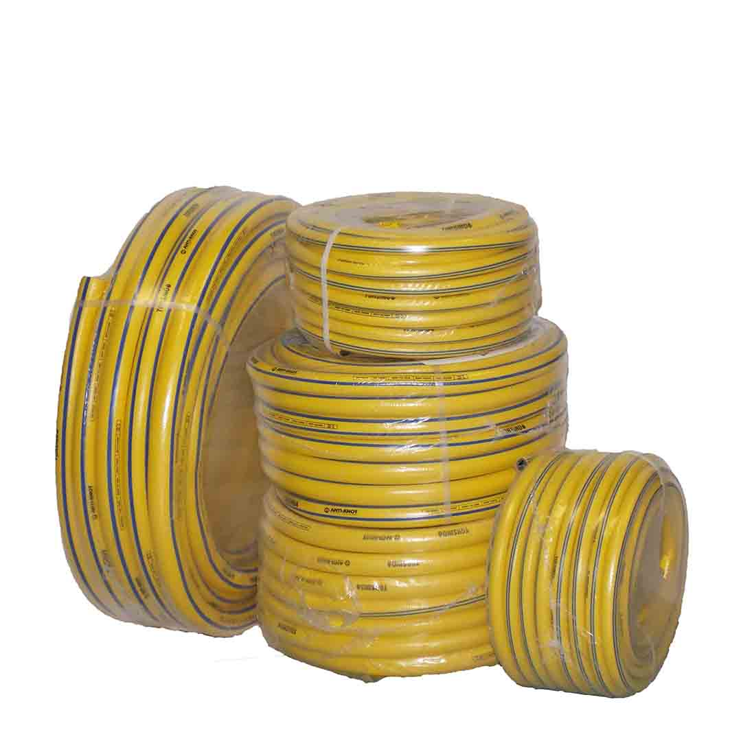 "Large Reels- Yellow PVC Obart Select High Pressure Delivery Hose (1/2""-2"")"
