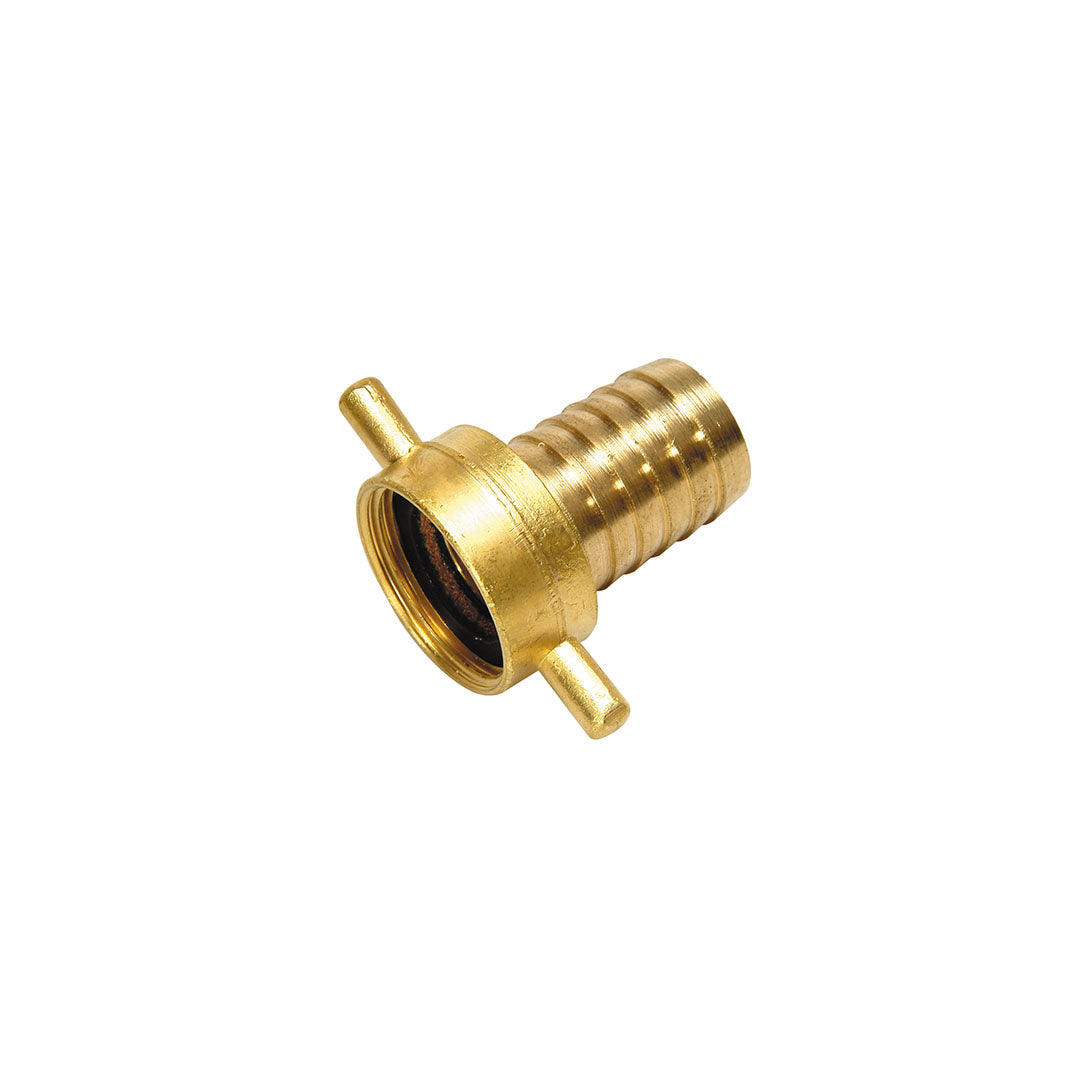 Hose tail c/w female BSP swivel - Brass 2
