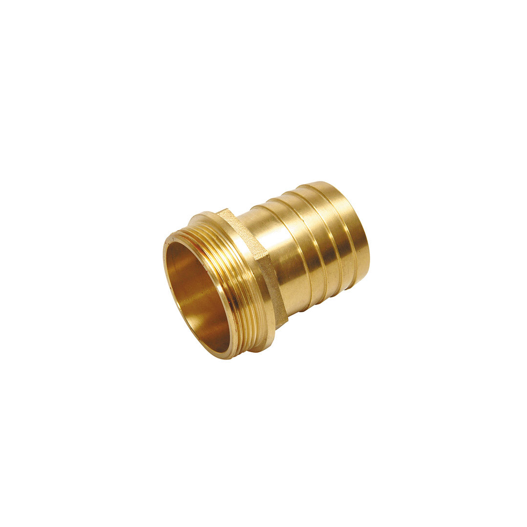 Hose tail c/w male BSP - Brass