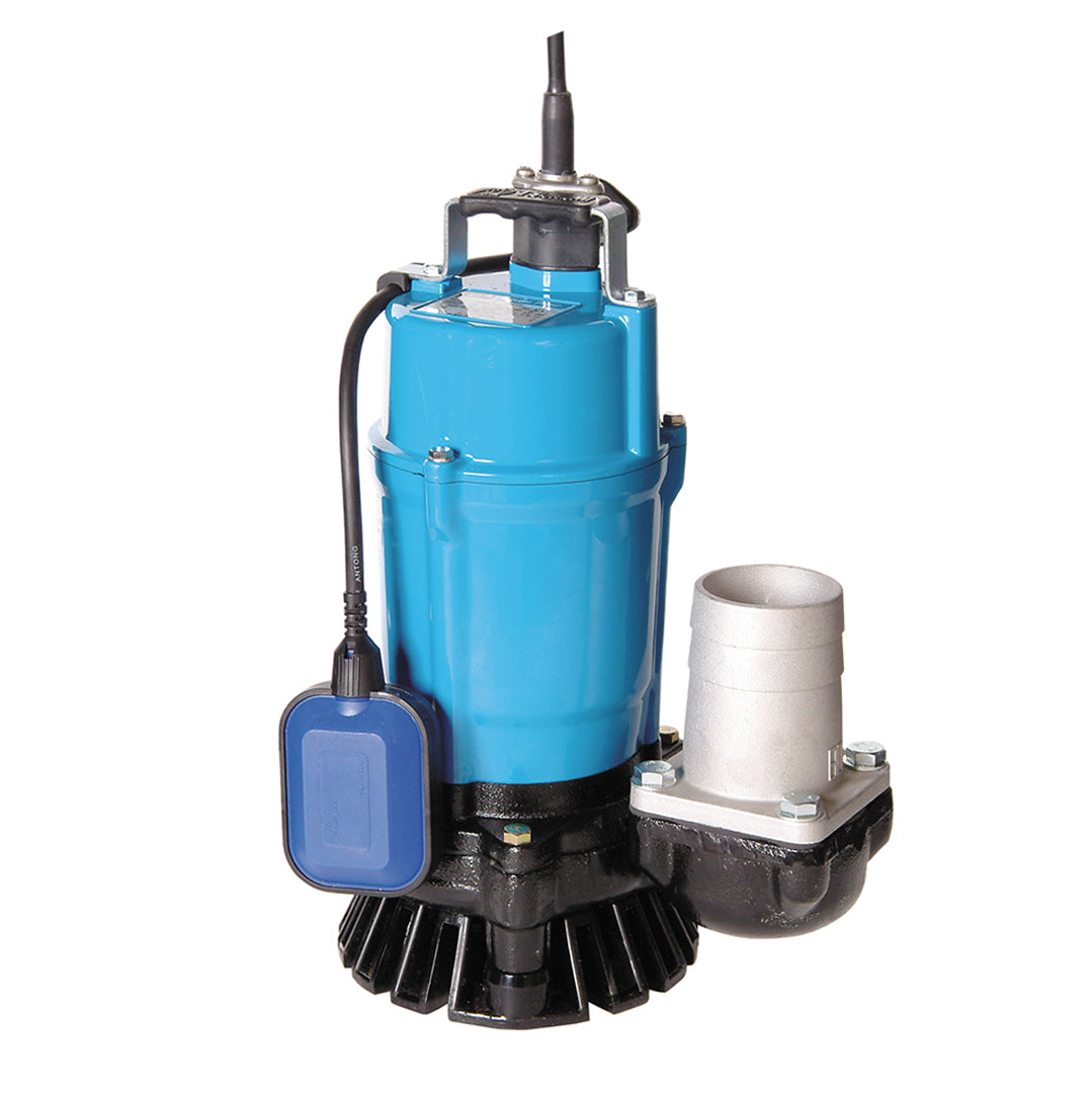 HS2.75S Automatic Single Phase Industrial Pump- Tsurumi Submersible pump- blue solid cast aluminium body