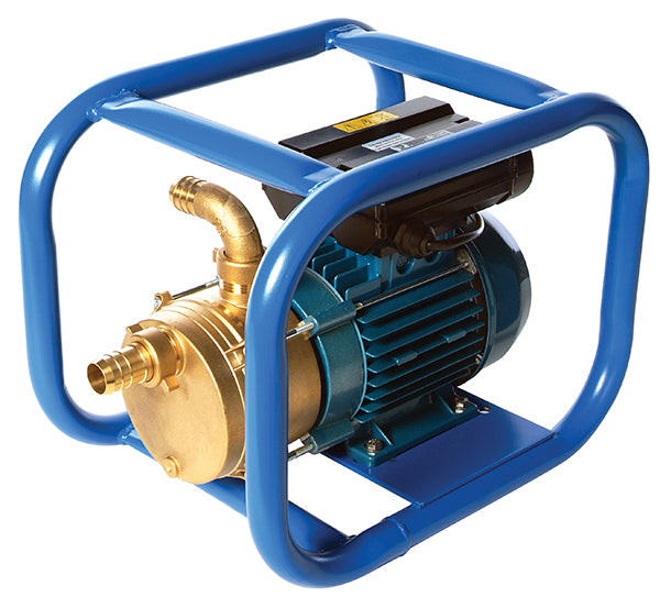 Pump Frames, blue tubular  - Obart Select - electric pump frame small