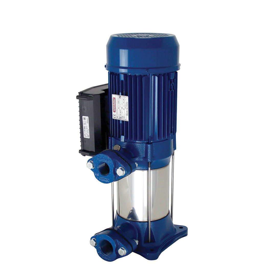 Speroni RV(M) Vertical Multistage Pump- blue stainless steel
