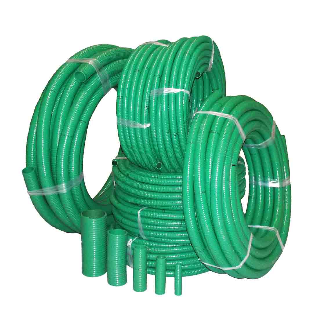 Obart Select Suction and Delivery Hose - PVC Green