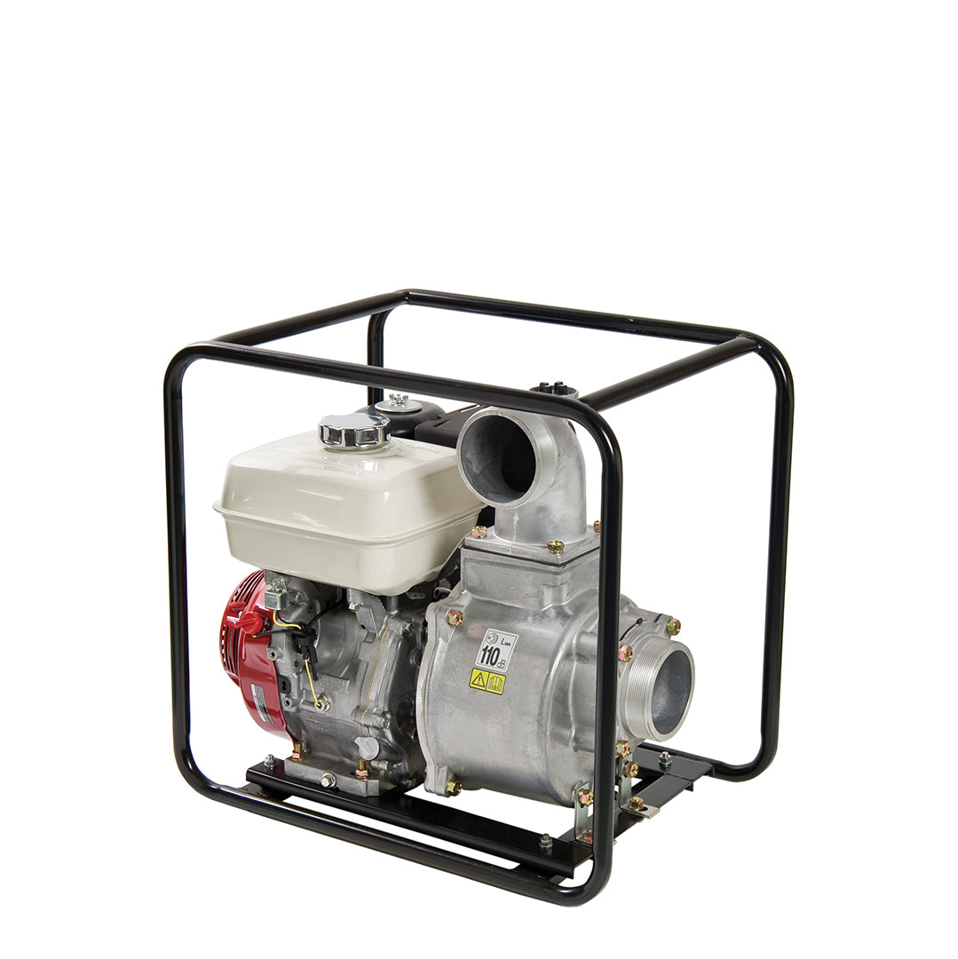 TET2-50HA Tsurumi Compact Petrol Engine Water Pump- fitted with aluminium pump housing