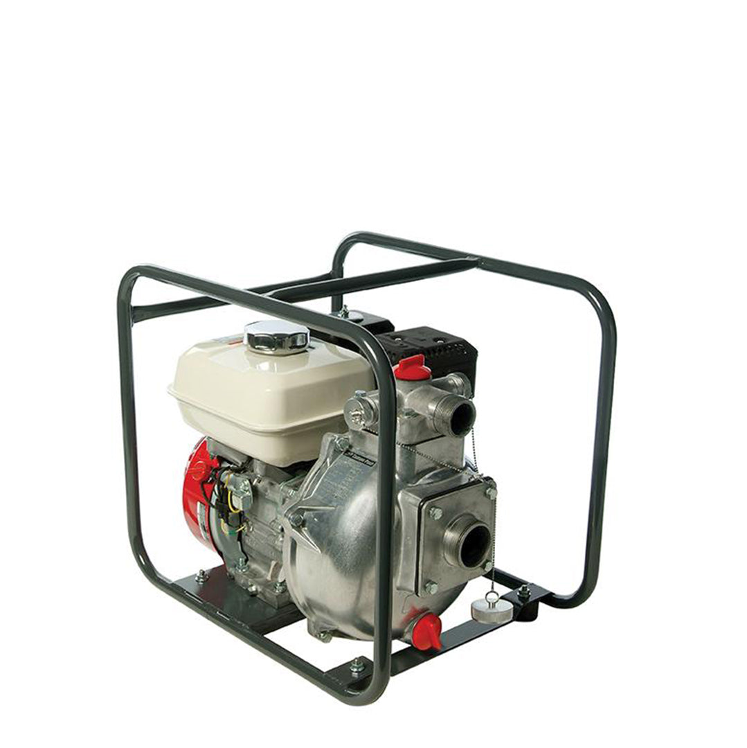 TEF350HA Tsurumi Centrifugal High Head Pump- housed in protective tubular steel frame