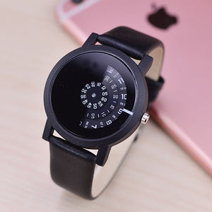 Digital discs  quartz watches