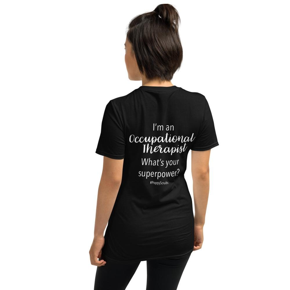 Poppy Scrubs Black / S I'm an Occupational Therapist