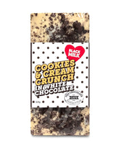 Load image into Gallery viewer, Cookies & Cream Crunch in White Chocolate Bar #3