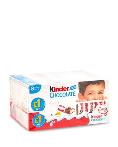 Kinder Chocolate Bar x80
