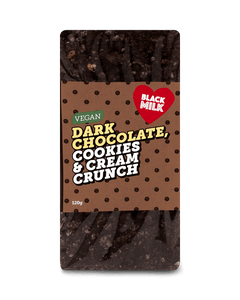 Vegan Dark Chocolate Cookies & Cream Crunch #6