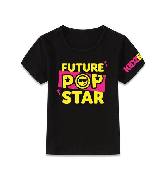 Future Pop Star Black Tee