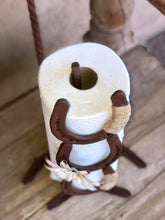 Load image into Gallery viewer, Horseshoe Paper Towel Holder