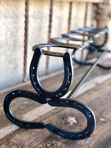 Horseshoe Boot Rack