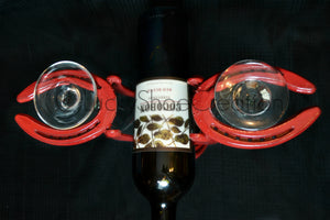 Red One Bottle Wine Rack