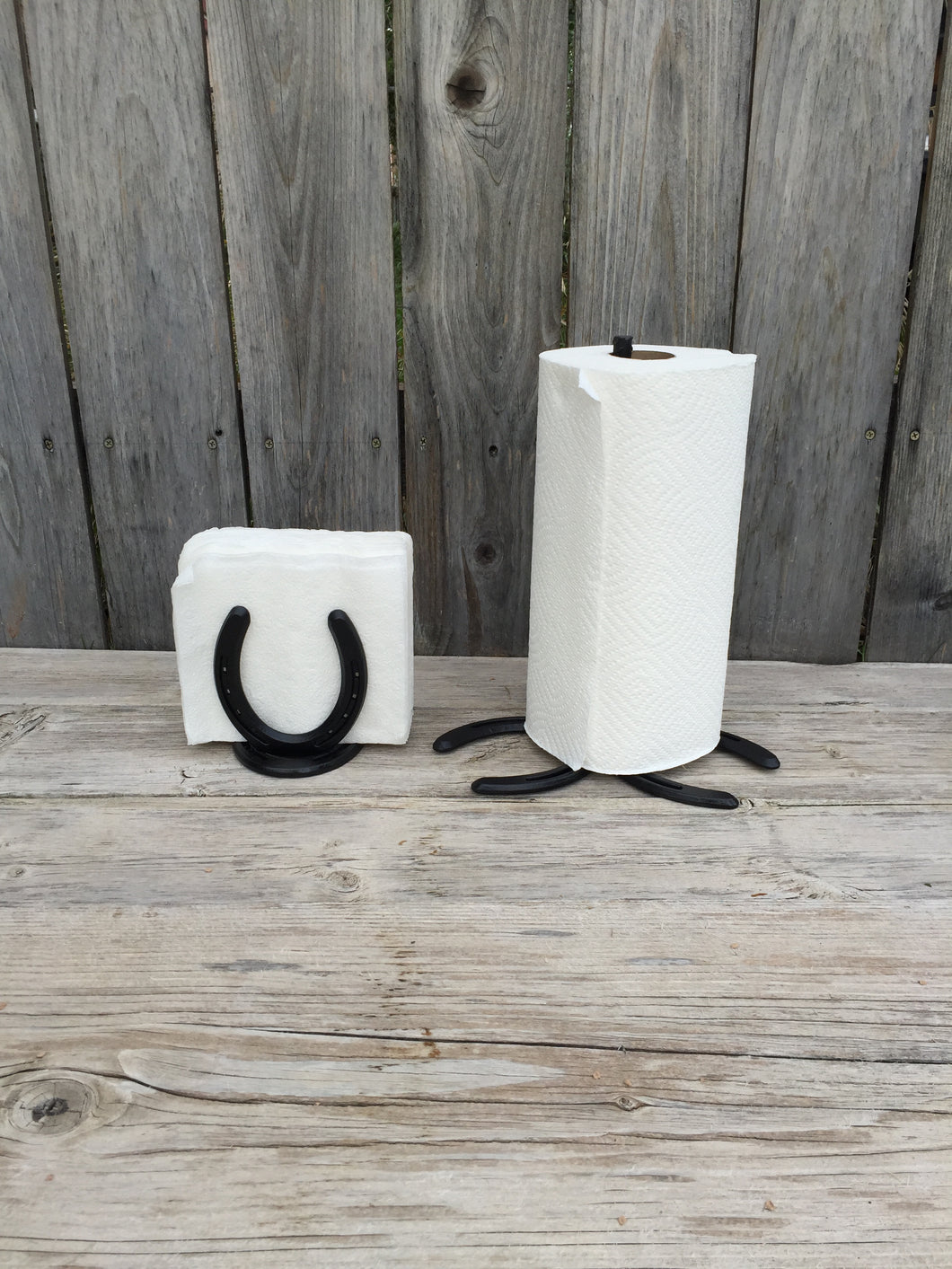 Paper Towel and Napkin Holder Set