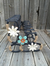 Load image into Gallery viewer, Horseshoe Boot Rack- 6 Pairs of Boots