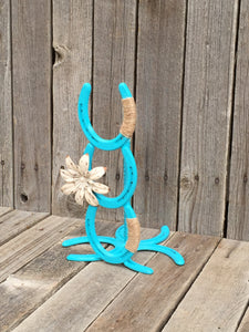 Turquoise Paper Towel Holder