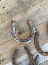Load image into Gallery viewer, Used Horseshoe, Lucky Horse Shoe