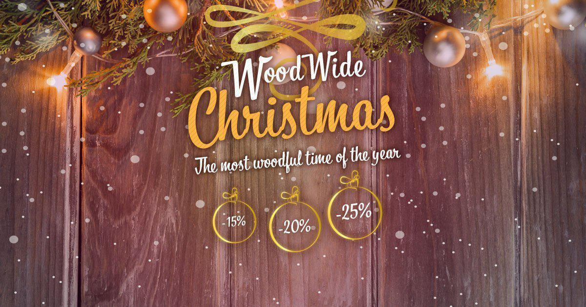 WoodWideChristmas Deals - Tot 25% korting WoodWideCities