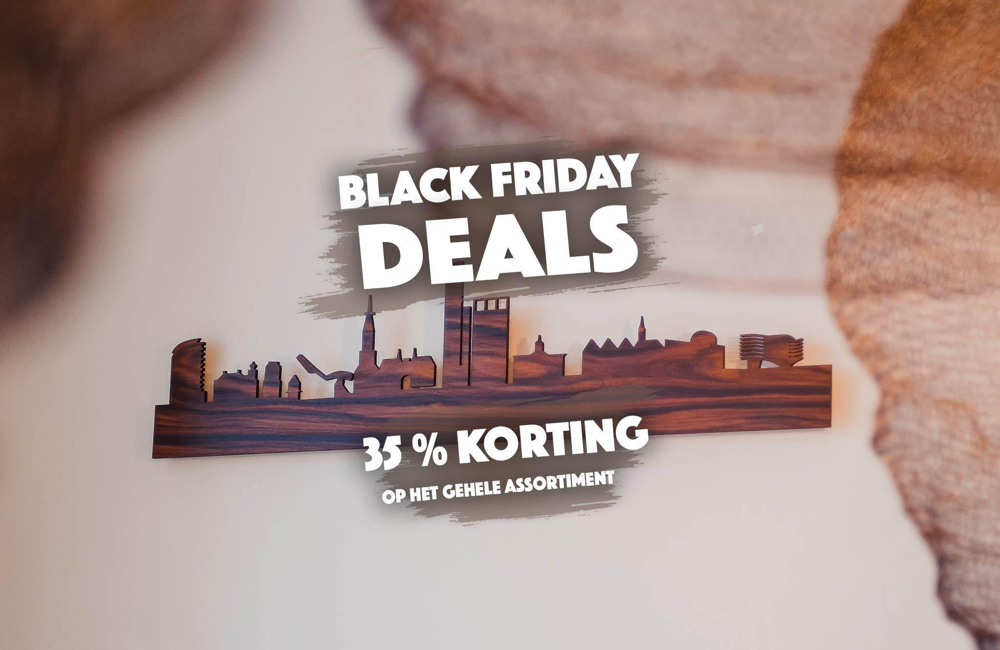 WoodWideCities pakt uit met Black Friday Deals - 35% korting op alles WoodWideCities