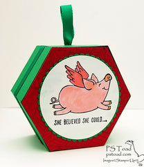She Believed She Could... Holiday Ornament