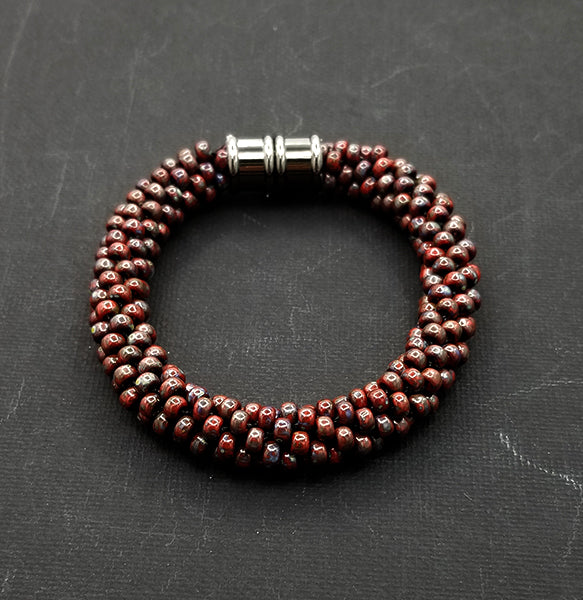 Brown and Earthtones Bracelet