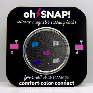Oh Snap! Earring Backs - A Must Have