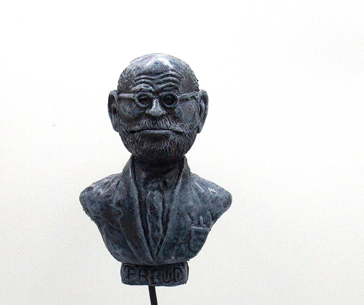 Freud by Zortz with a Clothespin