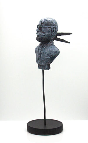 Freud by Zortz - with a Clothespin