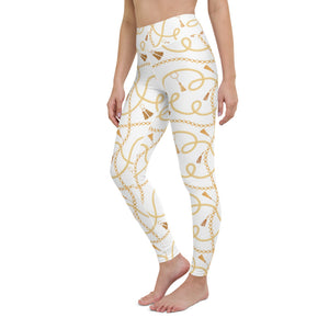 Baby Give Me One More Chance Yoga Leggings