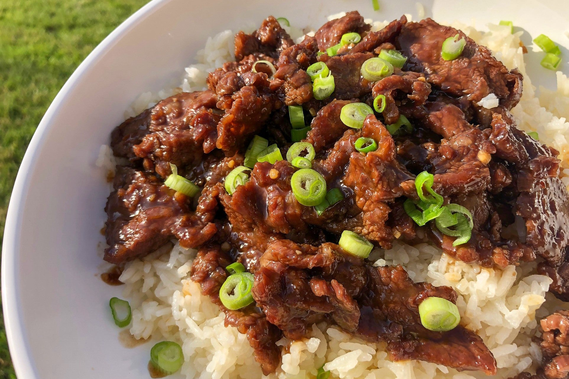 Super Easy Mongolian Beef