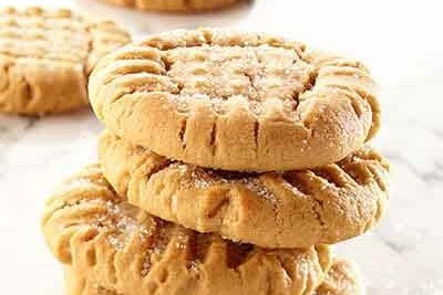 Soft + Chewy Peanut Butter Cookies