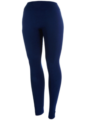 Fleece-lined Leggings {navy}
