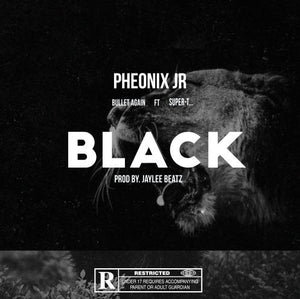 Phoenix Jr- BLACK (ft. Bullet Again & Super-Tee) (prod. JayLeeBeatz)