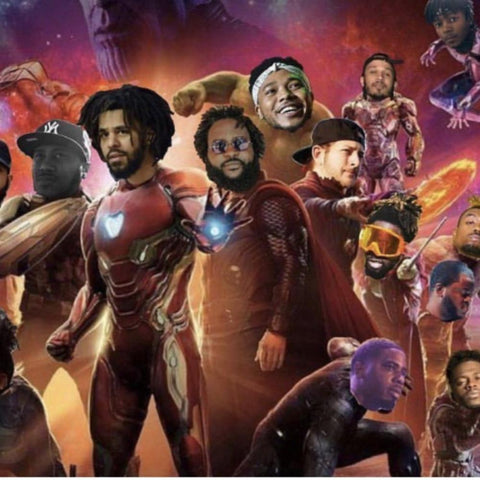 J. Cole Revenge of the Dreamers 3 Avengers