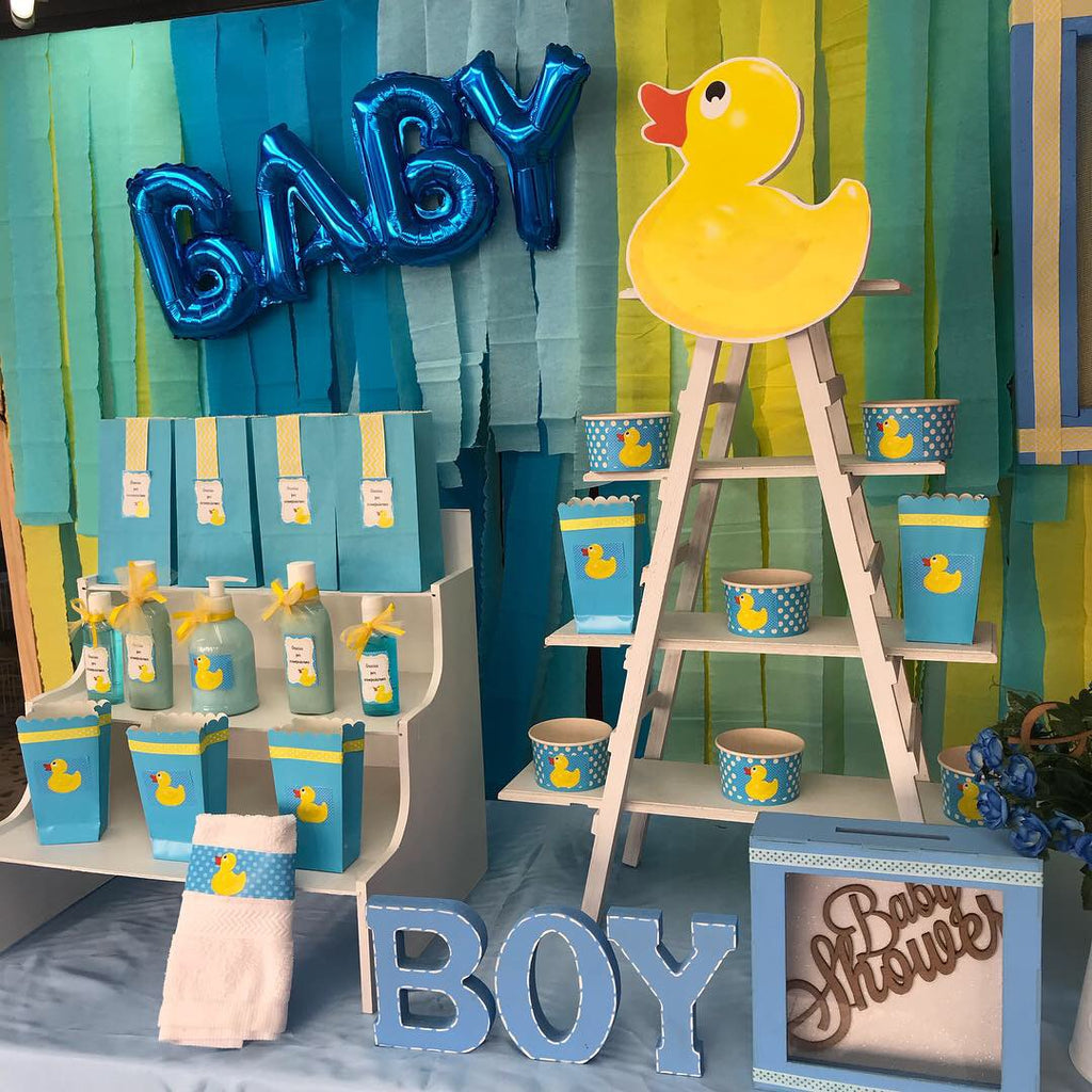 IDEAS PARA BABY SHOWER: Patito de hule